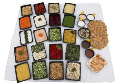 Salatbord komplet