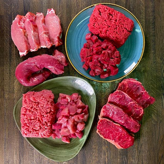 Til én måned 2 personer- Kødpakke