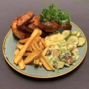 Fredagsmad - Spydstegt kylling
